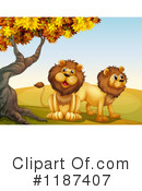 Lion Clipart #1187407 by Graphics RF