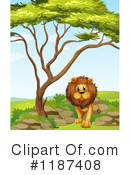 Lion Clipart #1187408 by Graphics RF