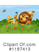 Lion Clipart #1187413 by Graphics RF