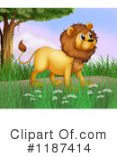 Lion Clipart #1187414 by Graphics RF