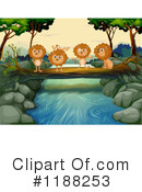 Lion Clipart #1188253 by Graphics RF