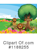 Lion Clipart #1188255 by Graphics RF