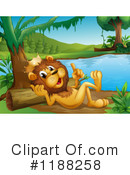 Lion Clipart #1188258 by Graphics RF