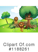 Lion Clipart #1188261 by Graphics RF