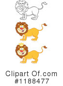 Lion Clipart #1188477 by Hit Toon