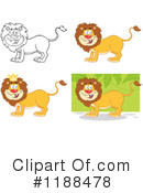 Lion Clipart #1188478 by Hit Toon