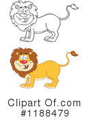 Lion Clipart #1188479 by Hit Toon