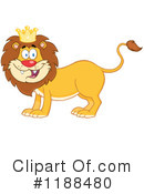 Lion Clipart #1188480 by Hit Toon