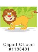 Lion Clipart #1188481 by Hit Toon