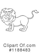 Lion Clipart #1188483 by Hit Toon