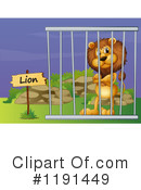 Lion Clipart #1191449 by Graphics RF