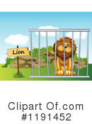 Lion Clipart #1191452 by Graphics RF