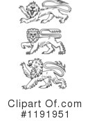 Lion Clipart #1191951 by Vector Tradition SM