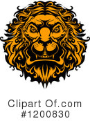 Lion Clipart #1200830 by Vector Tradition SM
