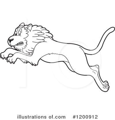 Lion Clipart #1200912 by Lal Perera
