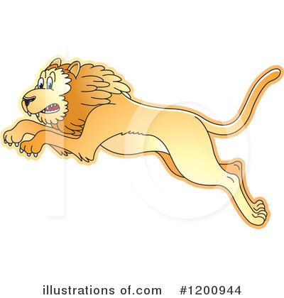 Lion Clipart #1200944 by Lal Perera