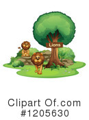 Lion Clipart #1205630 by Graphics RF
