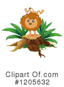 Lion Clipart #1205632 by Graphics RF