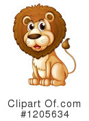 Lion Clipart #1205634 by Graphics RF