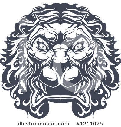 Lion Clipart #1211025 by Vector Tradition SM