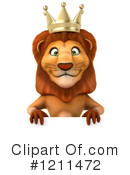 Lion Clipart #1211472 by Julos