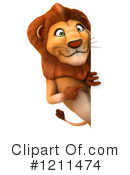 Lion Clipart #1211474 by Julos
