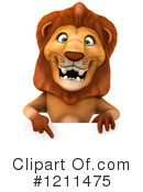 Lion Clipart #1211475 by Julos