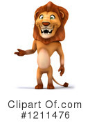 Lion Clipart #1211476 by Julos