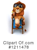 Lion Clipart #1211478 by Julos