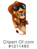 Lion Clipart #1211480 by Julos