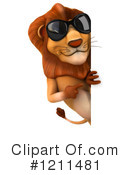 Lion Clipart #1211481 by Julos
