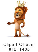 Lion Clipart #1211483 by Julos