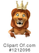 Lion Clipart #1212096 by Julos