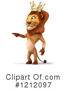 Lion Clipart #1212097 by Julos
