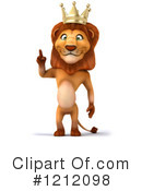 Lion Clipart #1212098 by Julos