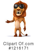Lion Clipart #1216171 by Julos