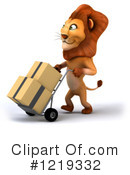 Lion Clipart #1219332 by Julos
