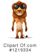 Lion Clipart #1219334 by Julos