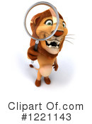 Lion Clipart #1221143 by Julos