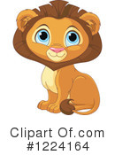 Lion Clipart #1224164 by Pushkin