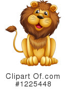 Lion Clipart #1225448 by Graphics RF