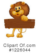 Lion Clipart #1226044 by Graphics RF
