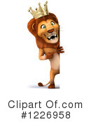 Lion Clipart #1226958 by Julos