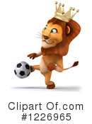Lion Clipart #1226965 by Julos