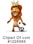 Lion Clipart #1226966 by Julos