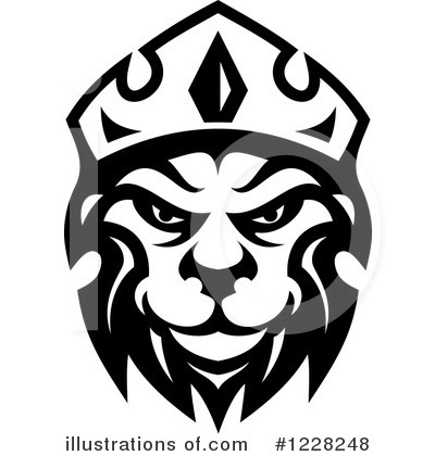 Lion Clipart #1228248 by Vector Tradition SM