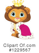 Lion Clipart #1229567 by Pushkin