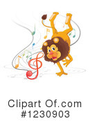 Lion Clipart #1230903 by Graphics RF