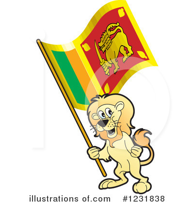 Lion Clipart #1231838 by Lal Perera