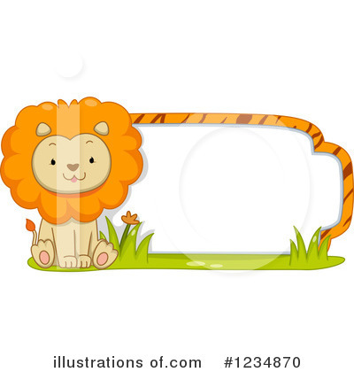 Zoo Animals Clipart #1234870 by BNP Design Studio